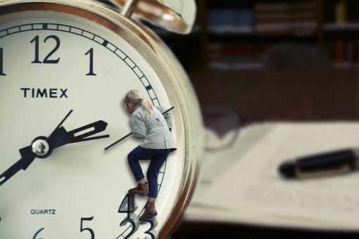 niña reloj